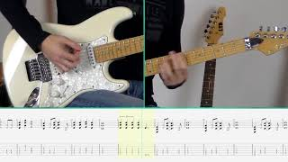 Bon Jovi - Livin' On A Prayer (Guitar Tutorial)