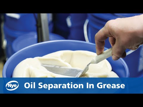 Oil Separation In Grease