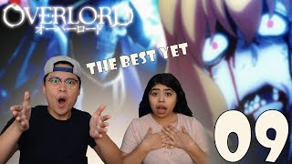 Overlord Season 1 Episode 9 Reaction and Review! AINZ OOAL GOWN VS CLEMENTINE! NABE VS KHAJIIT!