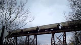 Pope lick Trestle time project