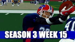 WHAT AWAY TO END THE GAME  - ESPN NFL 2K5 BILLS FRANCHISE VS PATRIOTS (S3W15)