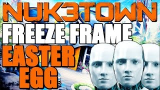 "Black Ops 3: New ""FREEZE FRAME"" Mannequin Easter Egg (BO3 Nuketown Secret Easter Egg)"