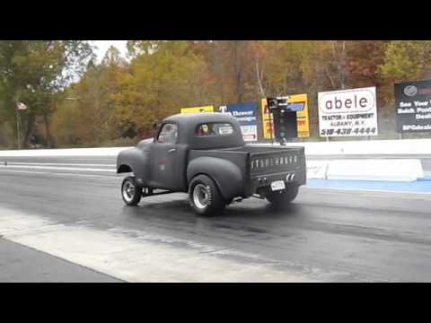 RJ Miolla: Taking a ride in a Studebaker Gasser Pickup ...