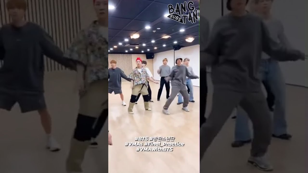 [ENG] 200901 @bts.bighitofficial Instagram Stories - VMA With BTS, Final Practice