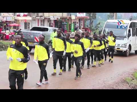 Muranga football club seeks to win  hearts of fans through cleaning up of Murang'a town