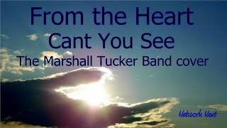 From the Heart -  Cant You See  - The Marshall Tucker Band cover