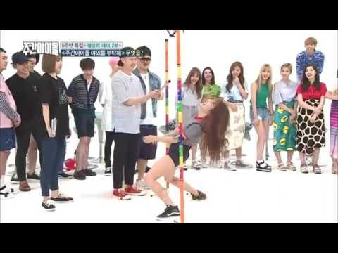 Btob Minhyuk Gfriend Yuju moments