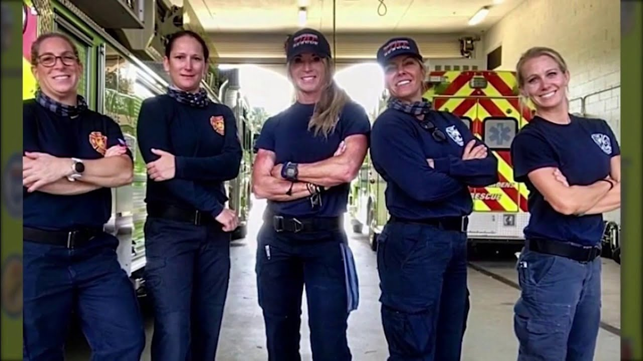 Group of Palm Beach female firefighters make history