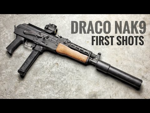 NAK9 First Shots - Will it function?? - YouTube
