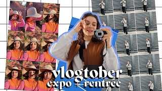 vlog 🌷 expo + mes cours !
