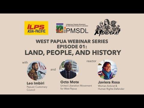 Episode 01 | West Papua Webinar [Part 1/2]