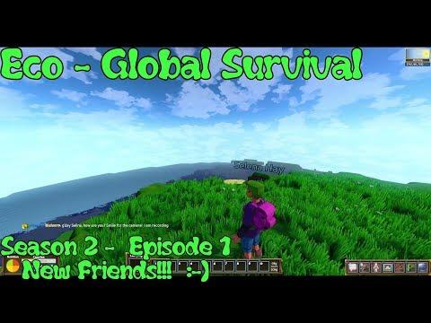Eco Global Survival - Season 2 - Episode 1 - A New Begining