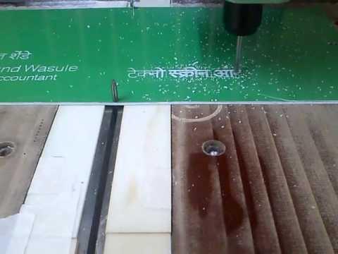 Nameplate Cnc Engraving Machine