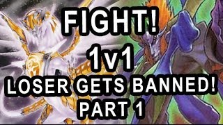 FIGHT! 1v1 LOSER GETS BANNED(From Zodiac)! PART 1