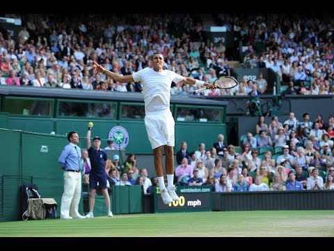2014 Day 8 Highlights, Rafael Nadal vs Nick Kyrgios, Fourth Round
