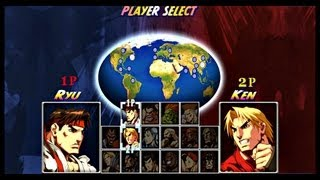 Super Street Fighter 2 Turbo : HD Remix - PS3 GAMEPLAY
