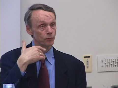 Branigin Lecturer, Peter Katzenstein