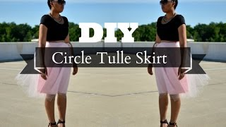 Circle Tulle Skirt Thumbnail