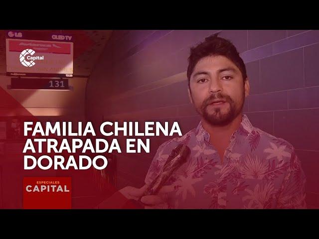 Familia chilena vive drama en el aeropuerto El Dorado por cancelación de vuelos