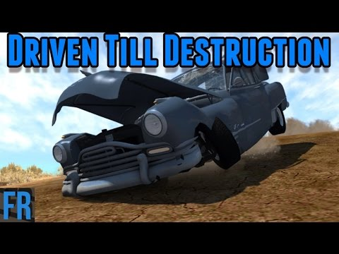 BeamNG Drive Challenge - Driven Till Destruction