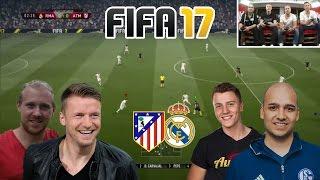 Fifa 17 - Atletico vs. Real Madrid - Joshua Begehr / Stefan FeelFIFA  vs. Patrick Maier / Maik Franz