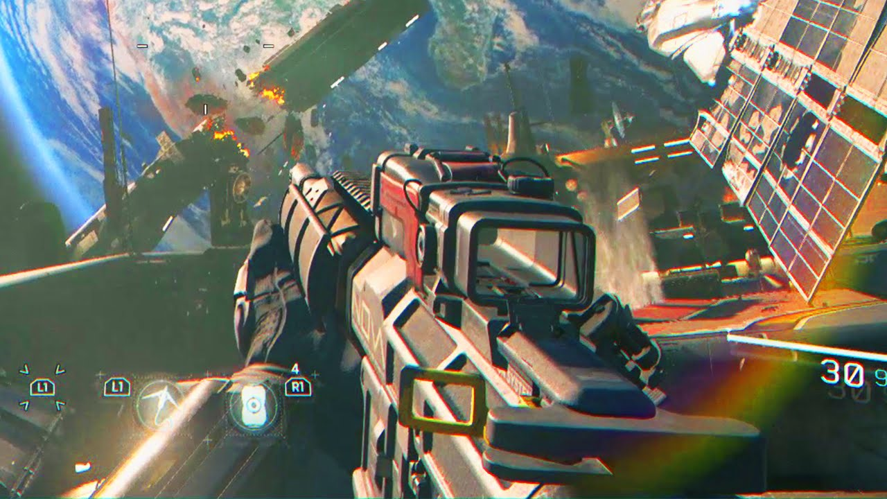 Call Of Duty: Infinite Warfare GAMEPLAY - E3 2016 COD IW Gameplay ...
