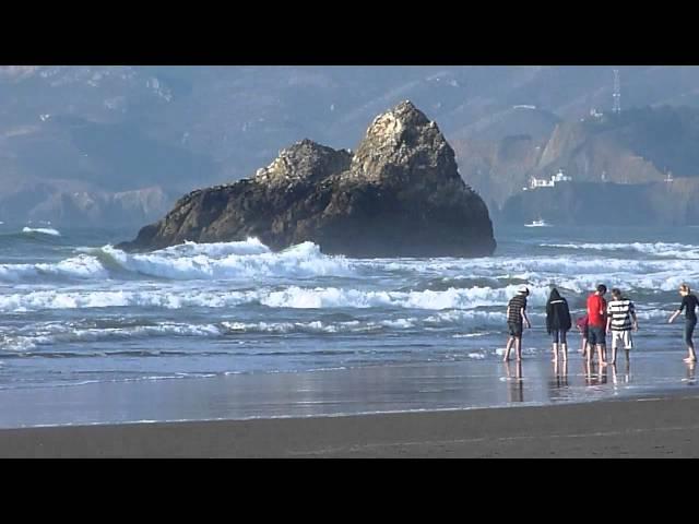 Pacific Ocean, San Francisco's Beach