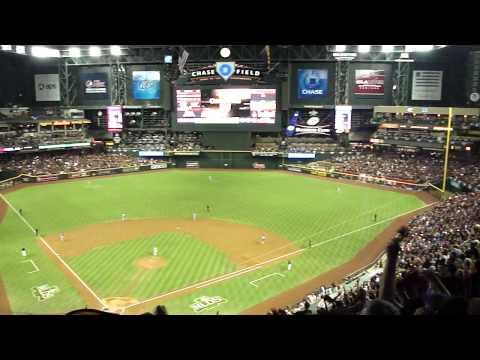 Arizona Diamondbacks vs. Milwaukee Brewers (10/5/11; Game 4 of the 2011 NLDS; Video 1 of 4)