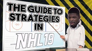 The Guide to STRATEGIES in NHL 19! Breakdown of each setting and what it does!