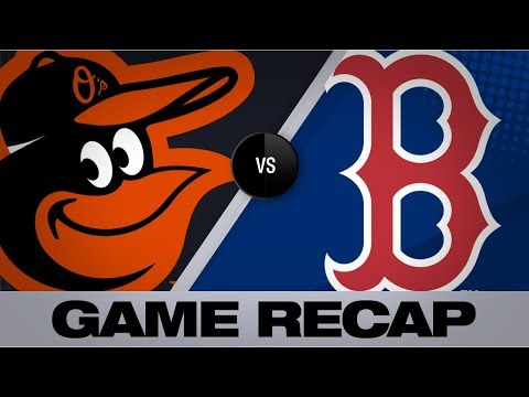 Red Sox blank O's in 4-0 win | Orioles-Red Sox Game Highlights 8/17/19