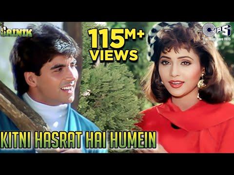 Kitni Hasrat Hain Humein - Video Song | Sainik | Akshay Kumar, Ashwini Bhave | Kumar Sanu, Sadhana S