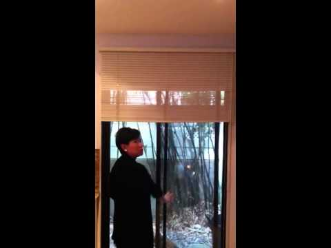 how to put blinds back up