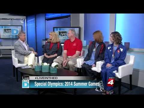 Special Olympics Michigan interview on Live in the D by WDIV-TV Detroit