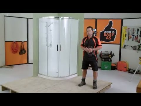 How to Install a Shower Enclosure | Mitre 10 Easy As
