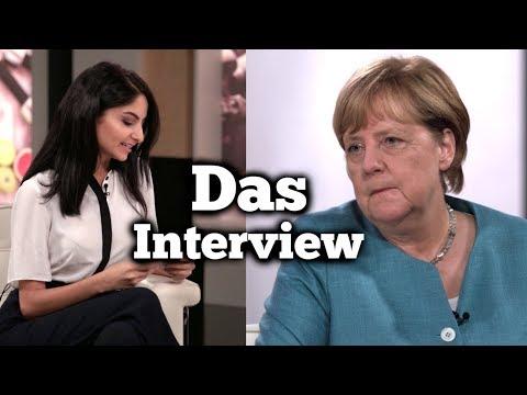 Das Interview mit Angela Merkel