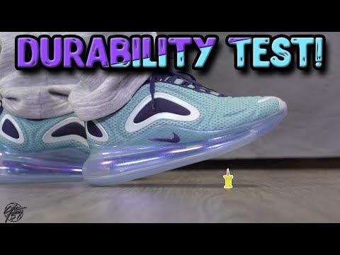 NIKE AIR MAX 720 DURABILITY TEST! (WILL IT POP?!) YouTube
