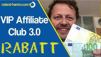 Vip Affiliate Club Rabatt - Geld verdienen im Internet