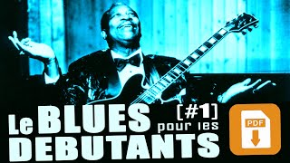 LES RIFFS DE BLUES Grands débutants #1 - PDF