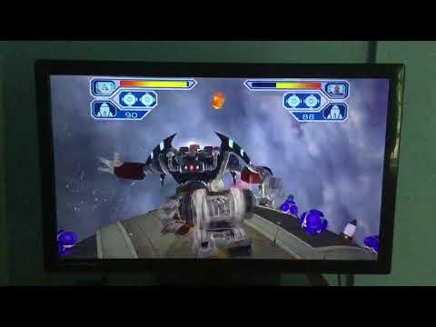 Ratchet & Clank 2: Going Commando Playthrough: Planet Dobbo ( 2nd Half ) Dobbo Moon Thug Leader Boss