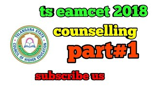 TS EAMCET 2018 Counseling | TS EAMCET  pre registration | TS EAMCET 2018 Rank Card