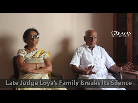 Three Years After His Death, Family of Judge Presiding Over Sohrabuddin Trial Breaks Its Silence