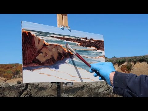 Plein Air Adventure #25 | Bean Hollow State Beach