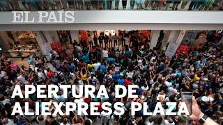 Apertura tienda física de Aliexpress en Madrid