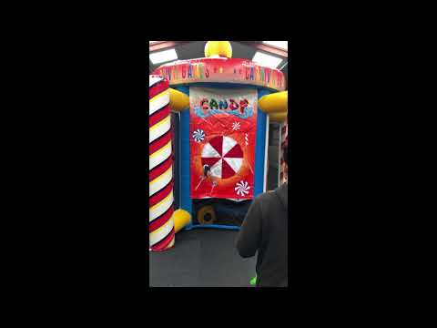 Andy J Leisure Inflatable 5 In 1 Carousel Game!