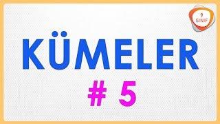Kümeler 5 | Kesişim ve Birleşim Kümesi | 9. Sınıf | #9sınıf