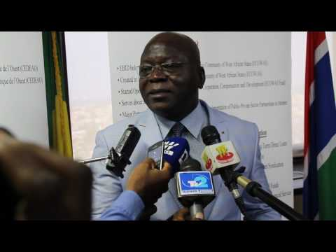 Sealink Meeting in Lome - 18th & 19th July 2017 - Interview with Mr. MEBA the FEWACCI President