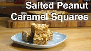 Salted Peanut Caramel Squares Recipe - Legourmettv