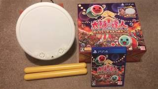 Taiko: Drum Master - Drum Session - Drum Bundle Unboxing (PS4) [HD]