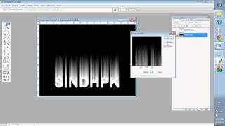Learn Fire name in  Photoshop with Sindhi Language (By: Ghulam Hyder Jamot)