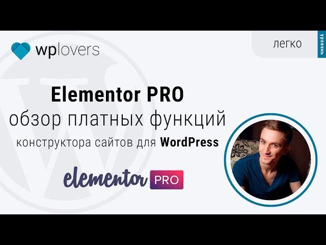 Elementor Pro — обзор платных функций конструктора сайтов для WordPress